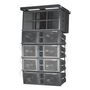"BW-2122 Dual 12"" two way line array speaker set"