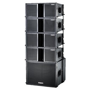 "BW-2210 Dual 10"" two way line array speaker set"