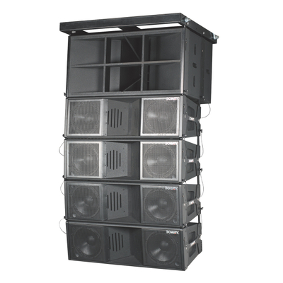 "BW-2123 Dual 12"" three way line array speaker set"